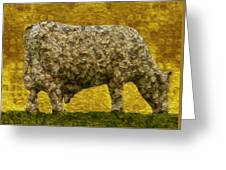 Grazing 2 Greeting Card