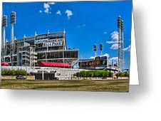 Great American Ball Park Greeting Card