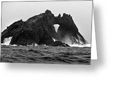 Great Arch On The Farallon Islands Greeting Card