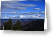 Great Balsam Mountains-north Carolina Greeting Card