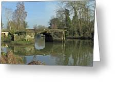 Great Bridge Warwick Greeting Card