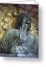 Great Buddha Of Nara Japan Greeting Card