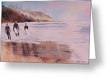 Great Day Of Surfing Greeting Card