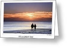 Great Day Poster Greeting Card