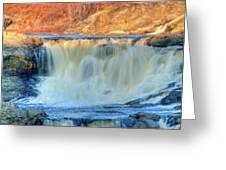 Great Falls 14133 Greeting Card