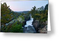Great Falls Md Hdr 2 Greeting Card