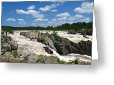 Great Falls On The Potomac Greeting Card