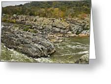 Great Falls Panorama Greeting Card