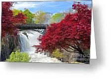 Great Falls Park N J Spring Scene Ii Photograph By Regina