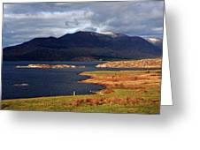 Lakes Of Ireland, Waterville, County Kerry Greeting Card