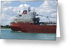 Great Lakes Transport Greeting Card