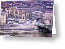 Great Market Hall Budapest Greeting Card