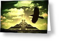 Great Mayan Dream Greeting Card