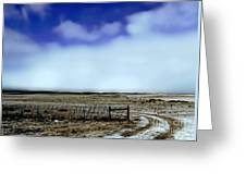 Great Plains Winter Greeting Card