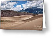Great Sand Dunes #6 Greeting Card