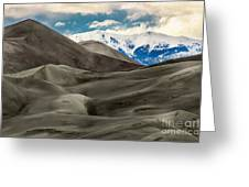 Great Sand Dunes Greeting Card