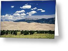 Great Sand Dunes I Greeting Card