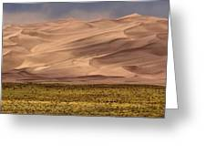 Great Sand Dunes In Colorado Greeting Card