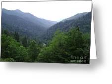 Great Smokey Mountains Greeting Card
