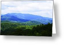 Great Smoky Mountains Greeting Card by Christi Kraft