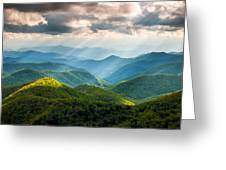 Great Smoky Mountains National Park Nc Western North Carolina Greeting Card