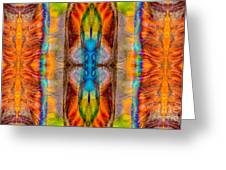 Great Spirit Abstract Pattern Artwork By Omaste Witkowski Greeting Card