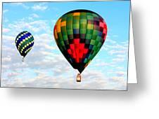 Great Texas Balloon Races Greeting Card