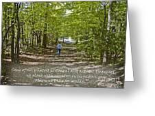 Great Treasures Greeting Card by Sandra Clark