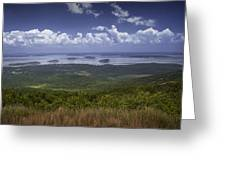 Great View On Top Of Cadilac Mountain Greeting Card