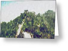 Great Wall 0033 - Plein Air 2 Sl Greeting Card