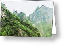 Great Wall 0043 - Oil Stain Sl Greeting Card