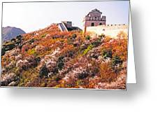 Great Wall In Springtime Greeting Card