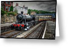 Great Western Locomotive Greeting Card