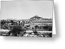 Greece Athens Agora Greeting Card