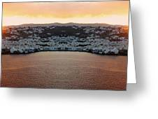 Greece Double Vision #154 Greeting Card