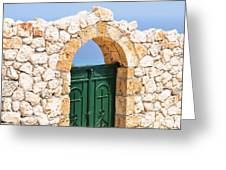 Greek Ancient Architecture Greeting Card