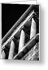 Greek Columns Greeting Card