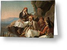 Greek Freedom Fighters Greeting Card