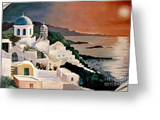 Greek Isles Greeting Card