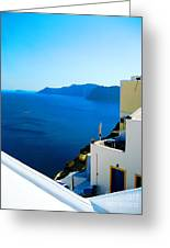 Greek Mediterranean Greeting Card