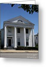 Greek Revival House - New London Ct Greeting Card