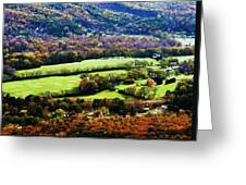 Green Acres Greeting Card