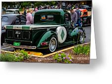 Green Dream Ford Greeting Card