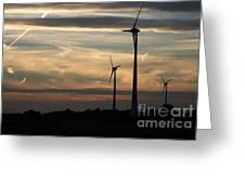 Green Energy Greeting Card