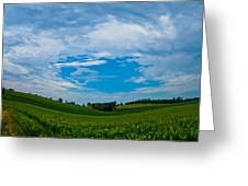 Green Grass Grows All Around Greeting Card