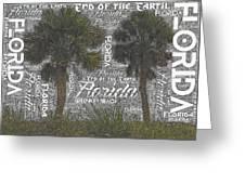 Green Key Beach Hill Side  Greeting Card