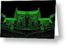 Green Manor Greeting Card
