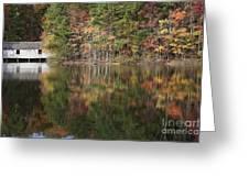 Green Mountain Lake Greeting Card