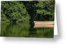 Green Nature Greeting Card