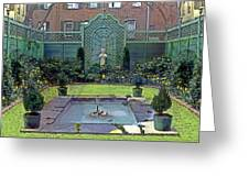 Green Retreat Greeting Card